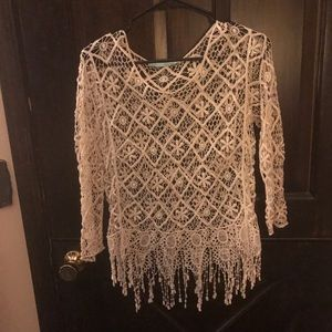 Maurice's crochet top